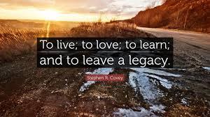 Make it memorable. Leave a legacy.